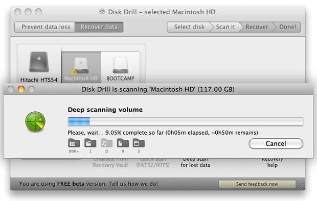 Как восстановить данные с жесткого диска MAC OS