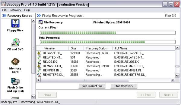 Как восстановить данные с диска DVD