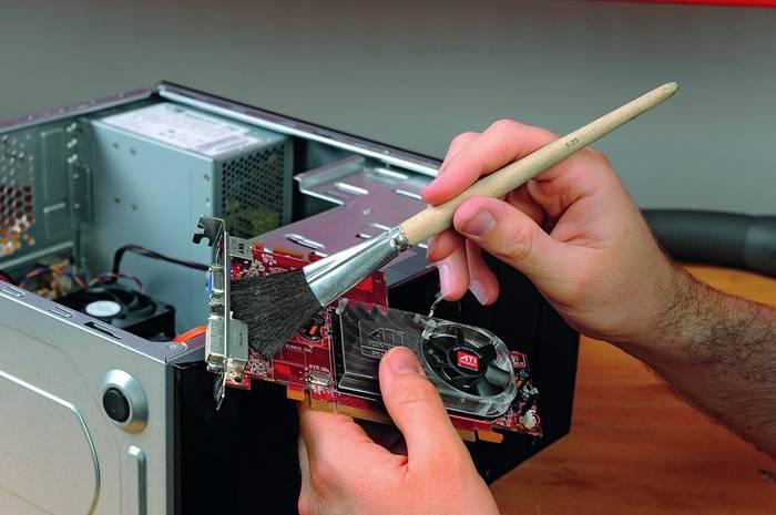 Компьютер не включается после чистки