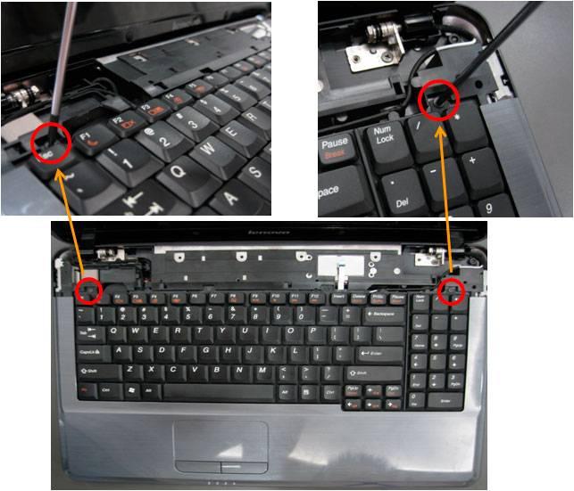 Процесс снятия клавиатуры с ноутбука своими руками