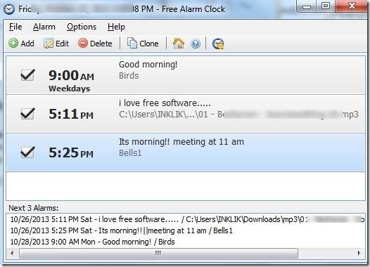 Устанавливаем будильник на ноутбуке в Windows