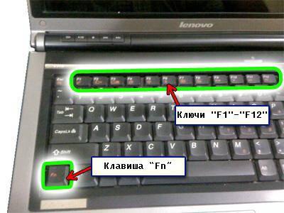 Что делать если не работает кнопка Fn на ноутбуке