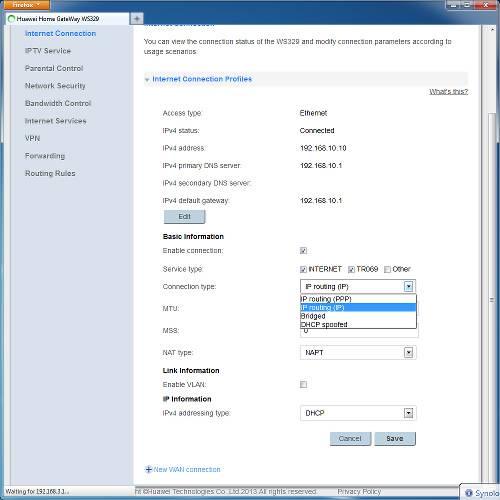 Как настроить wifi роутер Huawei WS329
