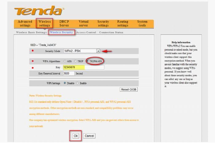 Как настроить роутер TENDA W316R