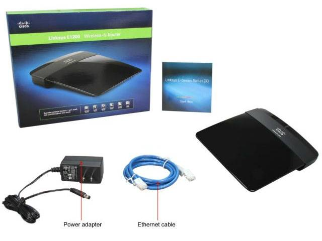 Как настроить роутер Cisco Linksys E1200