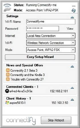Как настроить ноутбук на раздачу Wi-Fi без роутера