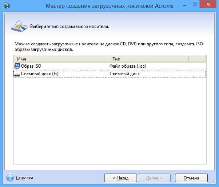 Создание загрузочной флешки для ОС Windows