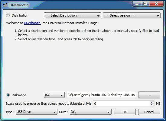 Установка Ubuntu LINUX с флешки - инструкция