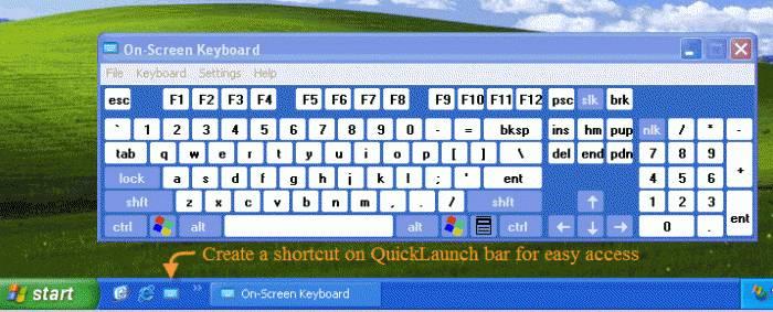 Виртуальная клавиатура - как включить на компьютере