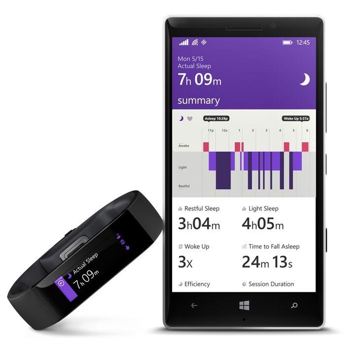Официальная премьера фитнес-браслета Microsoft Band