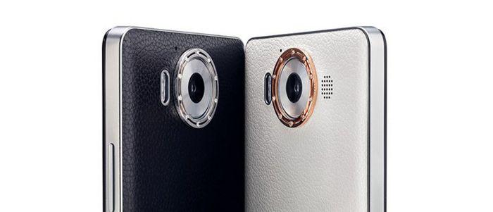 Роскошная крышка для Microsoft Lumia 950 из кожи, золота и бриллиантов за 1950 евро