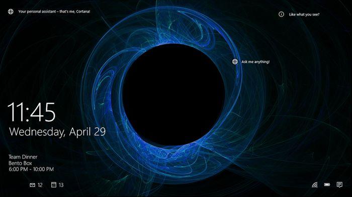 Spotlight – «умный» экран блокировки в Windows 10