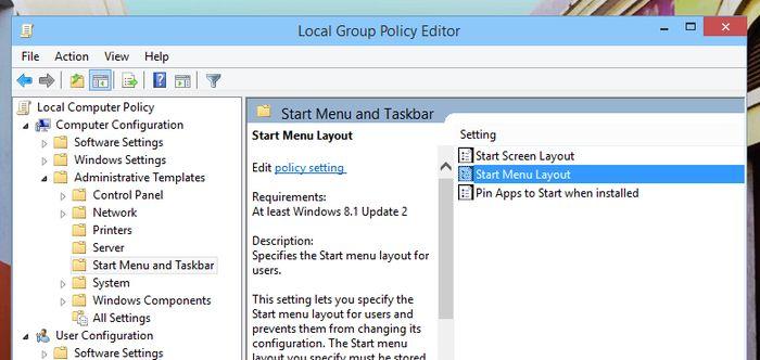 Как заблокировать изменение макета меню «Пуск» в Windows 10