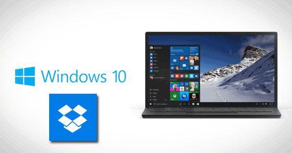 Приложение Dropbox для Windows 10 теперь поддерживает Windows Hello