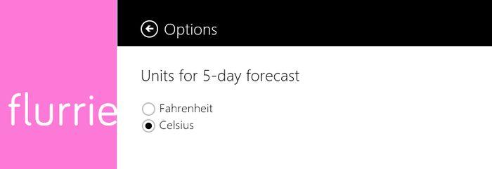 Breezy – простое, но красивое погодное приложение для Windows 8 и RT