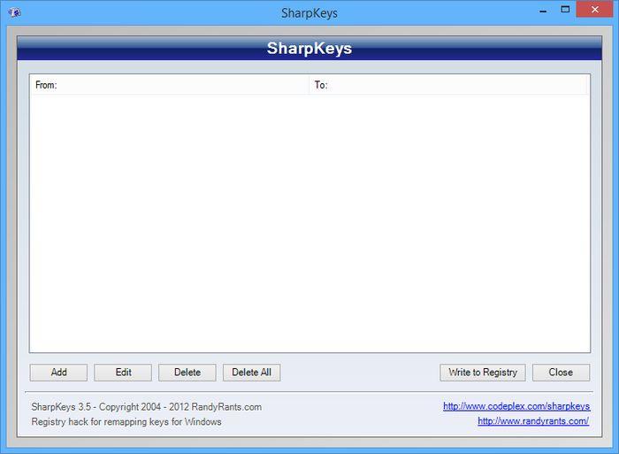 Как переназначить клавиши на клавиатуре в Windows 7/8.1