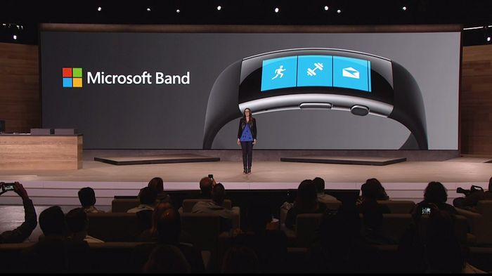 Microsoft Band 3 может быть водонепроницаемым