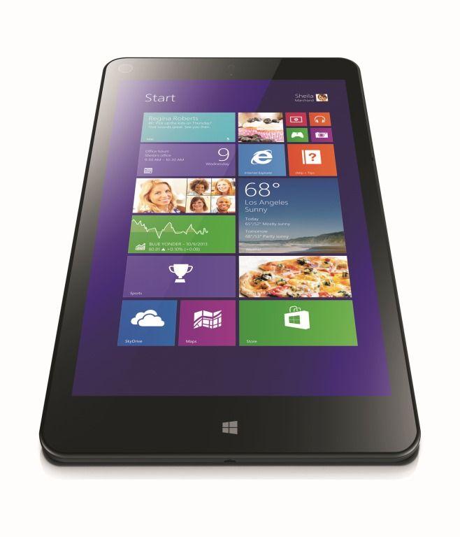 Небольшой планшет с Windows 8 с высоким разрешением экрана
