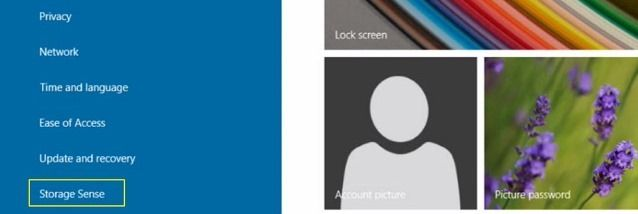 Windows 9: в сборке 9834 замечена функция Storage Sense
