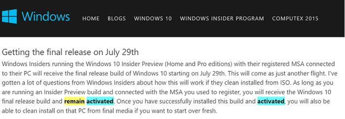 Как получить Windows 10 бесплатно? Присоединяйтесь к программе Windows Insider