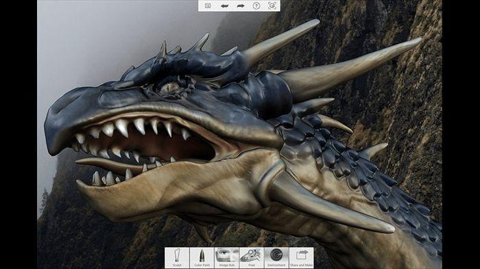 123D Sculpt+ от Autodesk: трехмерная лепка на компьютерах с Windows 10