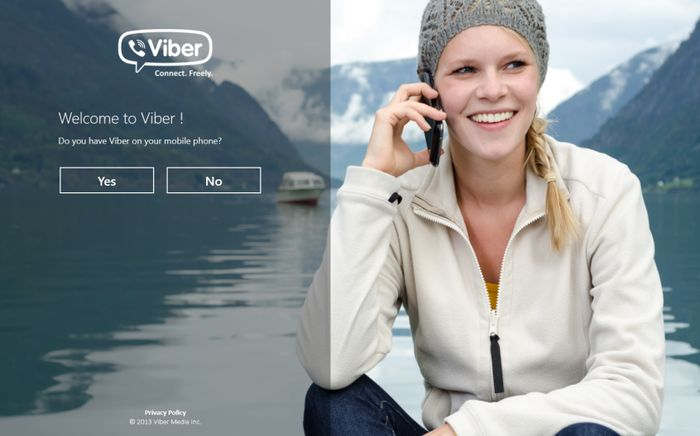 Официальное приложение Viber для Windows 8 и RT