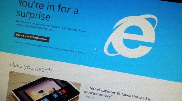 Windows 7 получила первую предварительную версию Internet Explorer 11