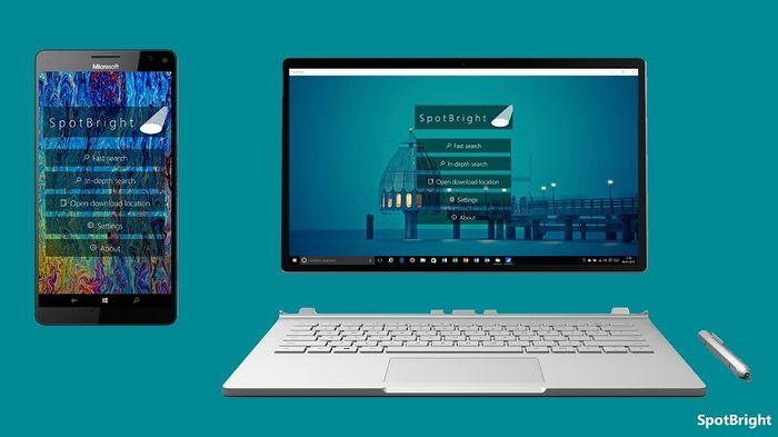 SpotBright – скачиваем изображения Windows Spotlight на ПК и смартфонах с Windows 10