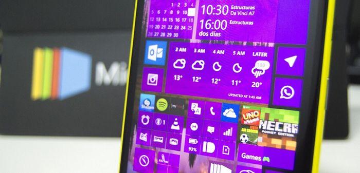 Windows 10 для смартфонов build 12544: новый Магазин и приложения Office