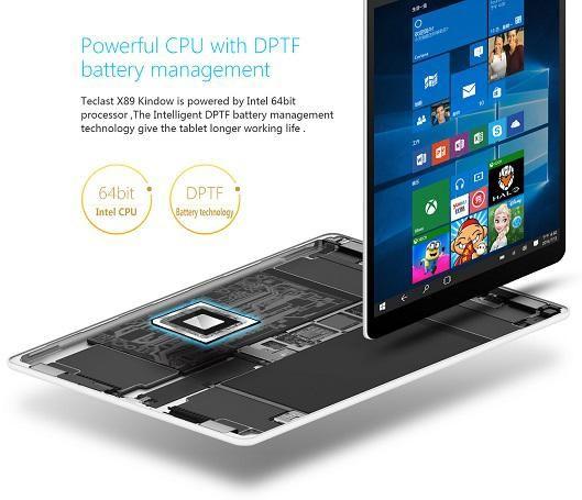 Teclast X89 Kindow – электронная читалка под управлением Windows 10