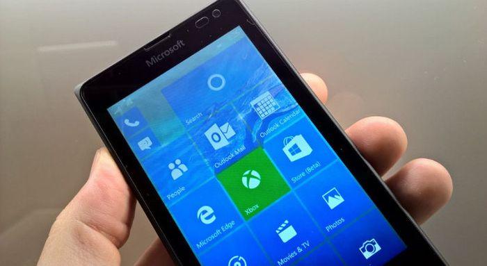 Windows 10 Mobile: доступна новая сборка 10549