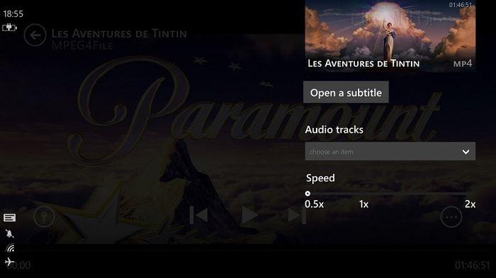 Вот как будет выглядеть VLC для Windows Phone