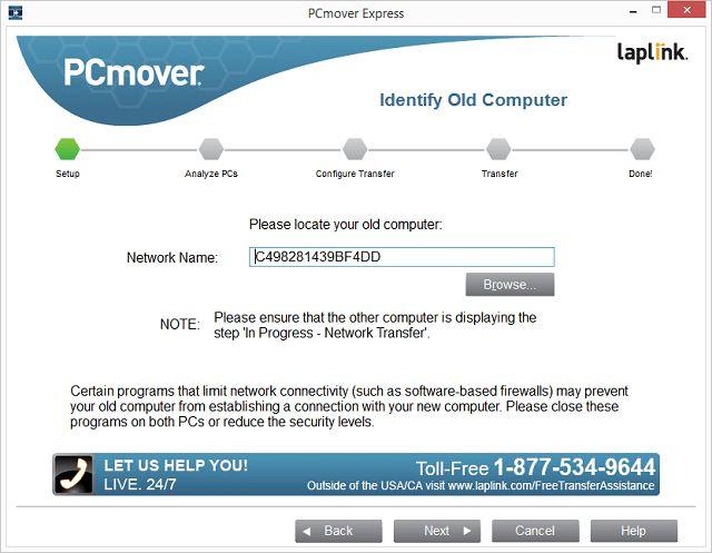 Как использовать PCmover Express, чтобы перейти с Windows XP на Windows 8 или 7