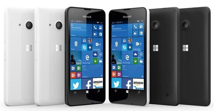 Как будет выглядеть Microsoft Lumia 550