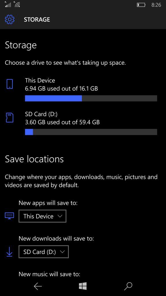 Microsoft выпустила Windows 10 Mobile build 10572