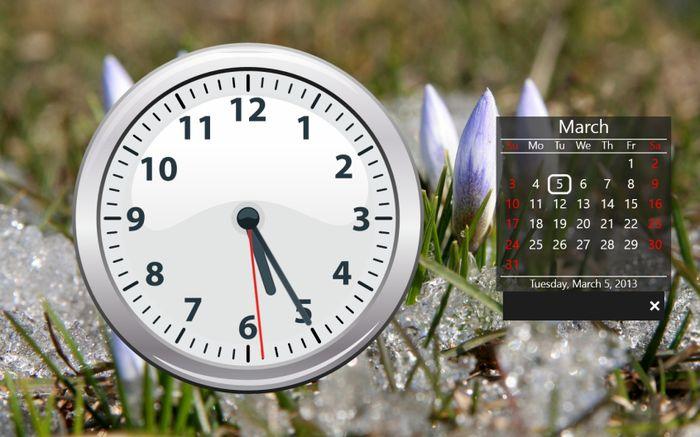 Как добавить часы на начальный экран Windows 8 и Windows RT