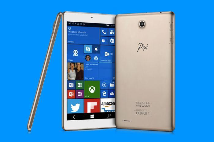 Alcatel Pixi 3: 8-дюймовый планшет с Windows 10 Mobile