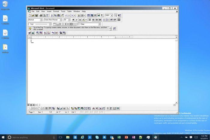 Гейб Аул показал несколько скриншотов Windows 10 Insider Preview Build 10136
