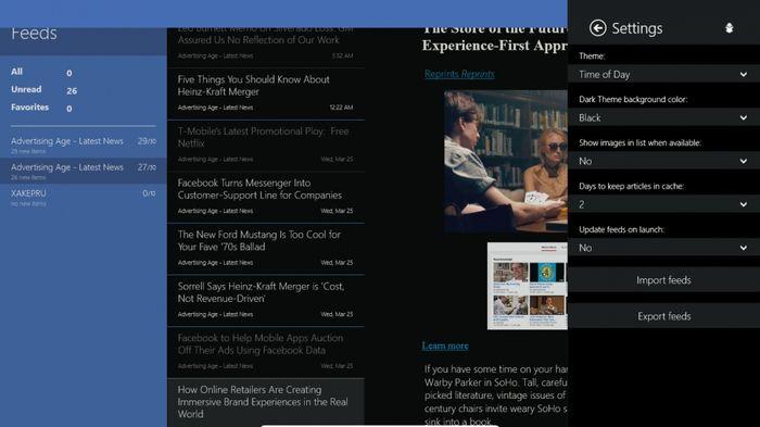 Fedora Reader – легкий RSS-агрегатор для Windows 8.1/10