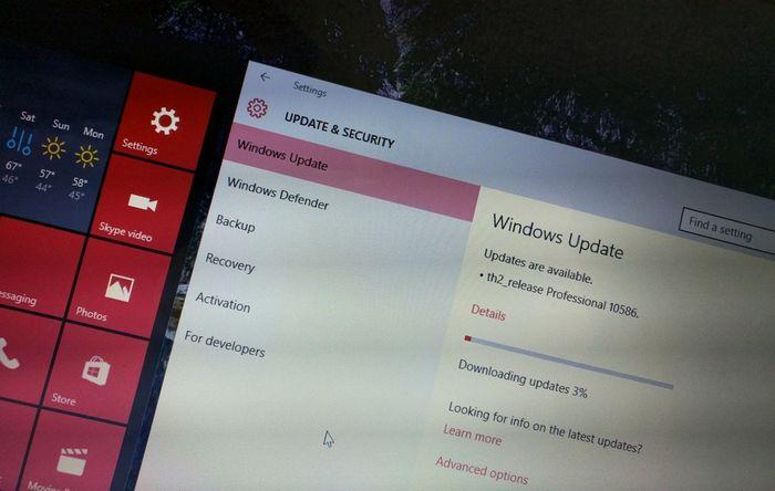Инсайдеры получают Windows 10 build 10586