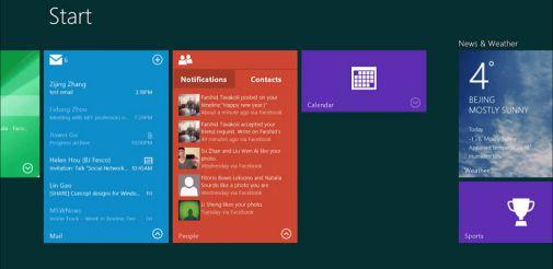 Windows 8 получит новые интерактивные плитки