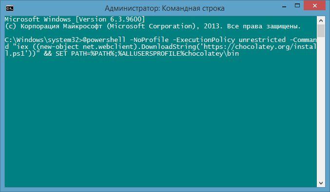 Chocolatey – устанавливаем программы в Windows как в Linux