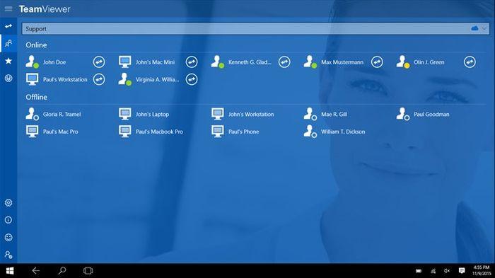 TeamViewer выпустили универсальное приложение для Windows 10 и Windows 10 Mobile