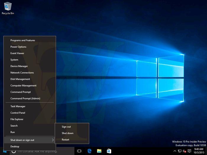 Windows 10 Insider Preview Build 10558 утекла в сеть [Дополнено]