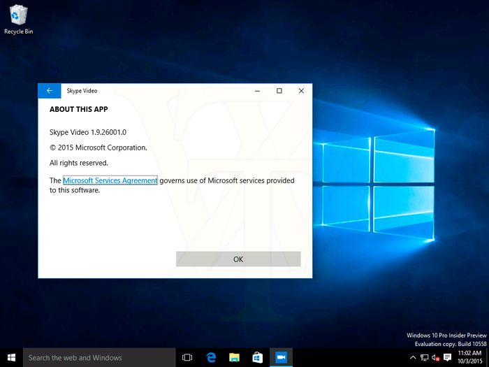 Windows 10 Insider Preview Build 10558 утекла в сеть [Дополнено]