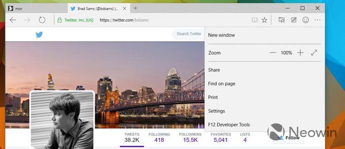 MS выпустила Windows 10 build 10049 с браузером Spartan