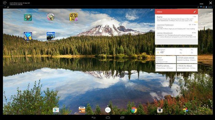 AMIDuOS: лучший эмулятор Android для Windows