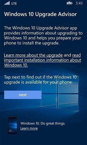 Официальный релиз Windows 10 Mobile для старых смартфонов