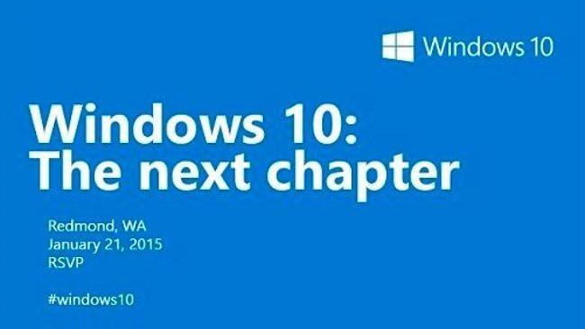 Microsoft приглашает на пресс-конференцию 21 января