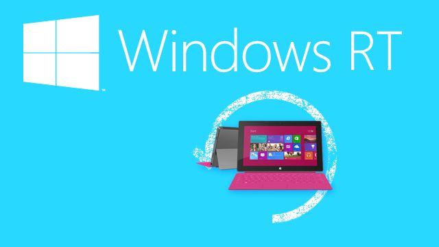 Windows RT: новое обновление в период релиза Windows 10